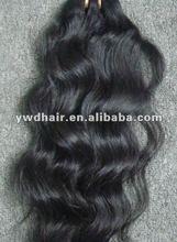brazilian virgin hair extenion, natural color virgin human curly hair weft accept paypal