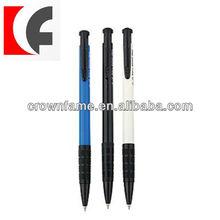 Retractable simple ballpoint pen
