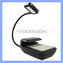 3 LED SMD Book Light Reading Lamp Nook Music Stand Clip Light