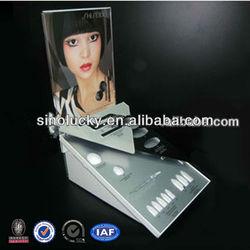 POP illuminated acrylic tray display/acrylic tray/acrylic