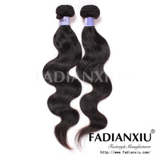 Fashionable charming brazilian hair natural color unprocessed premiun now hair