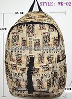 China fashion ladies jacquard canvas handbags