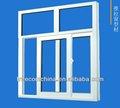ventana corredera de aluminio perfil de marco 6063 material
