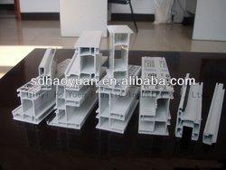 Mutiholes UPVC Window / Frame/ Sash / Mullion China Factory