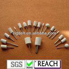 Felt bobs and dics diameter form 3mm to 50mm