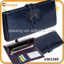 leather pouch pattern snap royal blue GW1349 money clip