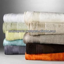 Organic bamboo fabric towel