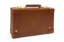 Oil leather mini trunk SILVER LAKE CLUB(130251)