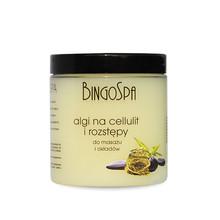 Anticellulite and stretch marks algae cream for massage