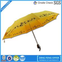 Hot sale trendy dog printed umbrella