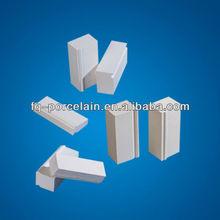 Alumina Lining Bricks Used as liner of ball mill