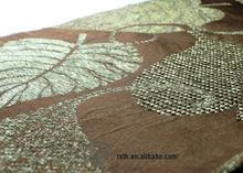 woven chenille blend flax linen fabric