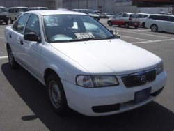2003 NISSAN SUNNY FE SALOON /B15-800164/ Used Car From Japan (44402)
