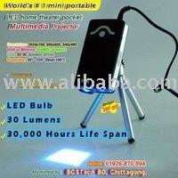 MOV-196 Portable mini USB LED Projector