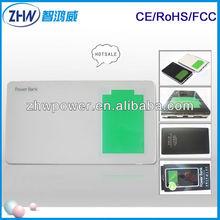 promotion mobile power bank 12000mah 5v 1A 2.1A external charger for tabletpc smart cell phone digital camera mp4 speaker etc