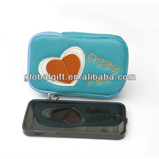 PU Leather Universal Mobile Phone Bag Pouch