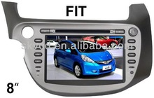 (FIT (new)) 8 inch two din Car DVD Player with GPS, bluetooth