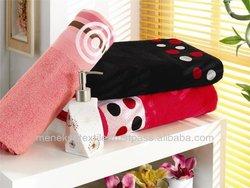 Polyester Border Jacquard Towel