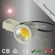 Hot sales !!!External Driver 10W COB LED Spotlight dimmable