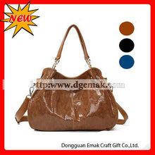 Popular women winter large cheap handbag wholesale