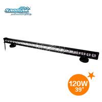 120W high intensity CREE auto led driving light bar for atv 4x4 utv SM6013-120
