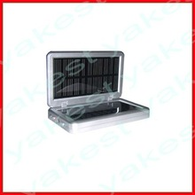 Solar usb charger with high battery capacity for smartphone
