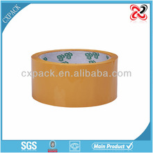 Carton sealing bopp copper foil adhesive acrylic tape jumbo roll
