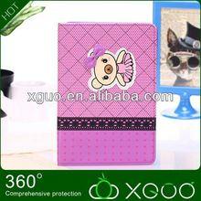 cartoon design for ipad mini case leather
