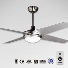 52 inch 4 wood blades decorative universe ceiling fan