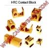 HRC contact block, terminal block, fuse component, cut-off terminal, pcb terminal