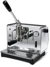 Italy 28cm x 36cm x 28cm 3 Liters Stainless Steel Ponte Vecchio Lusso Espresso Coffee Maker Machine