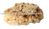 Popped Rice Cracker With Pork Floss