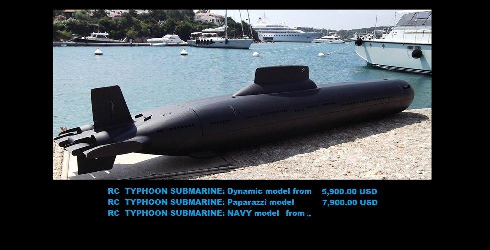 видео модели подводные лодки