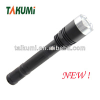 1w new plastic led rechargeable bright light torch