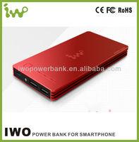 2013 hot sale 12000mah OEM power bank for samsung galaxy tab