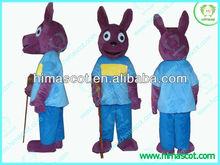 HI EN71 Cartoon Kangaroo Backyardigans Carnival Mascot Costume