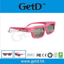 3d active glasses DLP 144hz projectors rechargeable