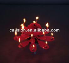 Indoor luminous music cake birthday candle