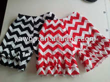 Wholesale Baby Cotton Chevron Color Shorts Baby Trousers For Baby Summer Cloth Pettishorts