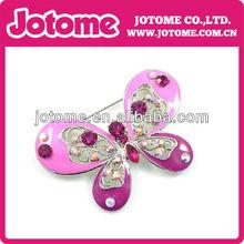Nuevo diseño baratos cometa/forma de mariposa de la moda encantadora broche de diamantes de imitación lindo de aleación pin