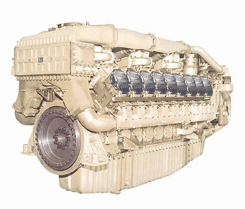 MAN 8000hp Diesel Engine