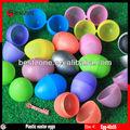 de plástico vacíos de huevo de pascua de cápsulas o bolas