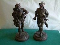resin cold cast bronze figurines
