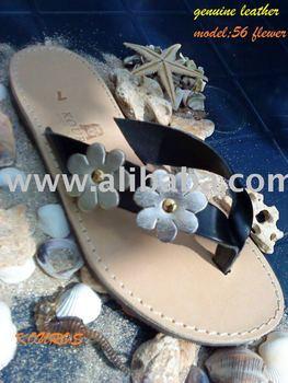 KOUROS leather sandals
