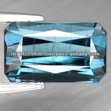 Loose Gemstone Beautiful Natural Blue Indicolite Tourmaline