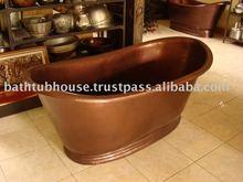 antiques Copper Bathtub