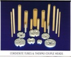 Cordierite refractory Tubes for heaters