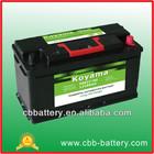 58827 korean car battery 12v88ah