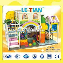 Bunte indoor hause weichen bereich kleine kinder indoor-spielplatz lt-1015b