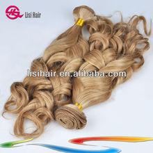 Wholesale 5A Gorgeous Hair Weave Natural Blonde model hair extension wholesale